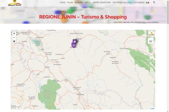 REGIONE JUNIN – Turismo & Shopping