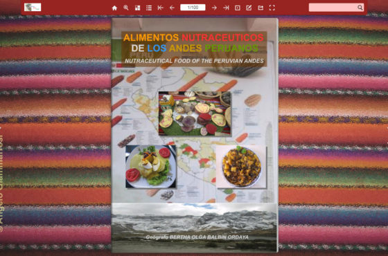 Alimentos Nutraceuticos de los Andes Peruanos de Bertha Balbin Ordaya