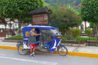 Servizio Mototaxi n.22 – Pozuzo