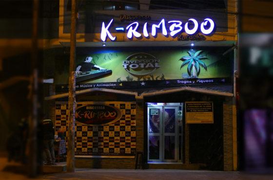 Discoteca K-Rimboo – Chanchamayo