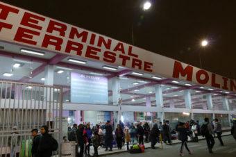 Molina Perú – Terminal Terrestre – Yerbateros