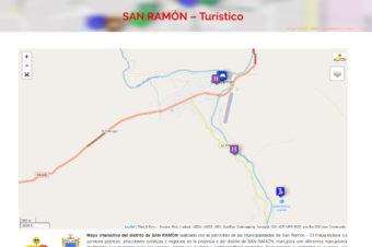 SAN RAMÓN – Turístico